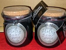 Disney Nightmare Before Christmas Deadly Night Shade Bath Salt 8.8 oz, 2 bottles