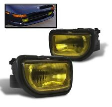 1991-1995 TOYOTA MR2 LOWER FRONT BUMPER DRIVING FOG LIGHTS LAMP YELLOW NEW L+R