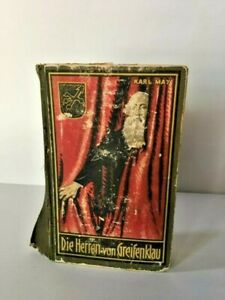 Karl May DIE HERREN von GREIFENKLAU German 1930 Rare Vintage RA