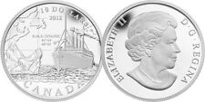 2012 'RMS Titanic' Proof $10 Pure Silver Coin .9999 Fine (12978)