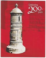 2009 PRESENTATION STAMP PACK 'AUST POST 200 YEARS' INC MINI SHEET 10 x 55c MNH