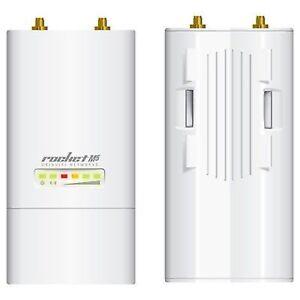 GRADE C Ubiquiti Rocket M5 802.11n MIMO 150Mbps+ Wireless AP ROCKET USED