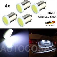 4 x T4W BA9S COB LED 6 SMD Coche Blanco Ultra Brillantes Bombillas Luz