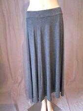 Cotton Blend No Pattern Business Regular Skirts for Women