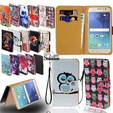 For Samsung Galaxy S6 S7 S8 Phones - Leather Wallet Card Stand Flip Case Cover