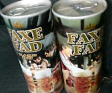 "Vintage Faxe Fad ""45""  Faxe Fad Denmark  Straight Steel  Beer Can Lot Of 2"