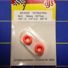 AJ'S 600D Silicone Orange Tires Marchon MR-1 Aurora G Plus ho tires
