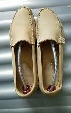 TOMMY HILFIGER slip on mocasson beige casual shoe size 40