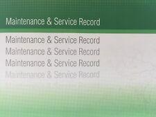 Skoda Generic Replacement Car Service History Book New Handbook Blank G