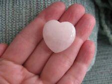 New Natural Rose Quartz Crystal Mini Travel Size Facial Gua Sha Depuffing Stone