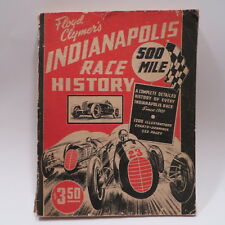 Vtg 1946 Floyd Clymers Indianapolis 500 Race History Book