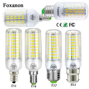 E27 E14 E12 B22 LED Corn Bulb Light 5730 SMD Spotlight Corn 30W Lamp AC110 220V
