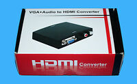 MAPLIN N47HH VGA + AUDIO TO HDMI CONVERTER WITH AUDIO SUPPORT -  RRP= £49.99