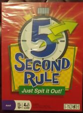 5 Second Rule Twisted Marble Timer ,Board Game,576 Questions on 288 Cards,New
