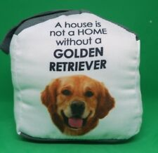 Door Stop Stopper Home Decor Dog Golden Retriever