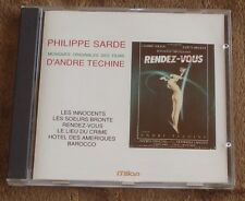 MUSIQUES ORIGINALES DES FILMS D'ANDRE TECHINE (Philippe Sarde) mint cd (1990)