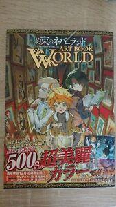 [NEUF] The Promised Neverland - Artbook World - Yakusoku No Neverland