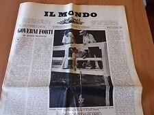 IL MONDO 490 (1958) Mario Tobino, Scanno, Varese, Eleonora Ruffo
