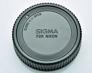 Genuine Sigma LCR Rear Lens Cap for Nikon AF Mount Auto Focus Lenses (#3361)