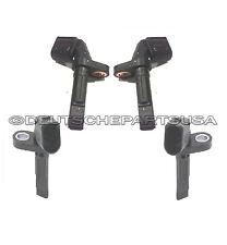 AUDI VOLKSWAGEN A5 A6 A8 S5 S6 PHAETON FRONT & REAR ABS WHEEL SPEED SENSOR 4 PC