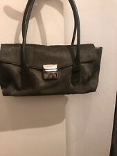 0a6db125ee9b3 Immaculate Khaki Leather And Pony Skin Shoulder Bag Ri2K Stunning Bag