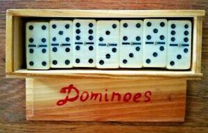 Boite de dominos complète pour 2 à 4 joueurs jeu de société