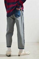 NEW BDG INSIDE OUT STRAIGHT CROPPED JEANS 36 URBAN OUTFITTERS