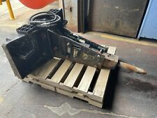 John Deere Hh40c Hydraulic Hammer Worksite Pro Skid Steer Attachment Concrete