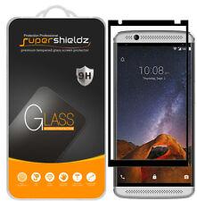 2X Supershieldz ZTE Axon 7 Mini Full Cover Tempered Glass Screen Protector Black