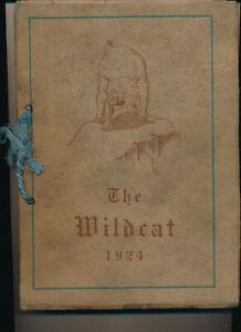 Pueblo CO Central High School yearbook 1924 Colorado
