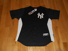 MAJESTIC NEW YORK YANKEES AUTHENTIC COLECTION  MENS MLB STITCHED JERSEY XL COOL