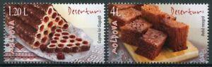 Moldova 2020 MNH Gastronomy Stamps Traditional Desserts Cultures 2v Set