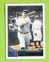 2011 Topps Lineage - Babe Ruth (#100)  New York Yankees