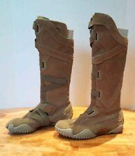 e9e8d917ef1a Puma Women s Mostro Alto Brown Suede Moto Motorcycle Style Knee Boots ...