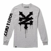 Zoo York - Stencil - Men's Long Sleeve T-Shirt - Grey - Sizes S-XXL