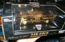 RICKY CRAVEN 24K GOLD PLATED COMMEMORATIVE 1/24 CAR MIB