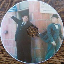 VINTAGE FILM STAR Laurel & Hardy FOTO Pellicola STARS silent movies COMICS 570 + DVD