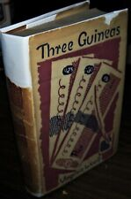 THREE GUINEAS by VIRGINIA WOOLF first American edition 1938 in dustjacket