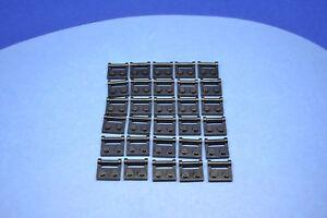 LEGO 30 x Platten 1x2 mit Griff schwarz black plate with handle 48336 4225201