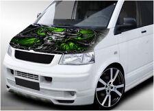 VW Volkswagen Transporter Bonnet Wrap 306 Imprimé Vinyle Autocollant T4 T5 T6 Crâne