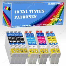 10x no originales Tinta compatible para Epson Workforce WF-2530 wf je.18ml BT119