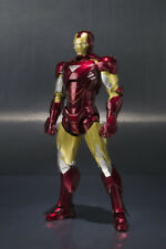 Bandai Iron Man Mark VI Hall Of Armor Set Action Figura Sh Figuarts 15 Cm