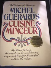 France Food Without Calories Book Michel Guerard Hc 1976 Rare