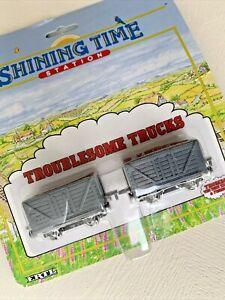 1992 Ertl Shining Time Station TROUBLESOME TRUCKS Train Car Thomas The Train MOC