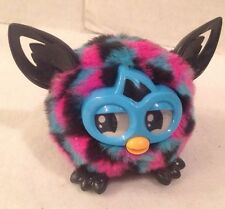 Hasbro 2013 Furby Furbling Interactive Toy Triangle  Black Pink Teal Blue Works