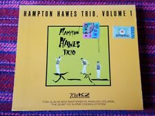 Hampton Haves Trio ~ Vol.1 ( Contemporary Record ) Limited 10,000 copies Cd