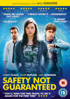 Safety Not Guaranteed DVD (2014) Aubrey Plaza, Trevorrow (DIR) cert 15