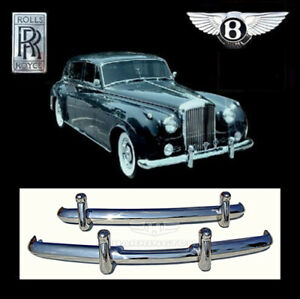 Brand new Rolls Royce Silver Cloud I and II stainless steel bumpers