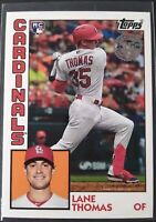 2019 Topps Update Lane Thomas RC Rookie Card 1984 Topps Insert Cardinals 84-23