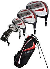 New Bullet Golf .444 Complete Set with Bag Black & Red Uniflex (RH)